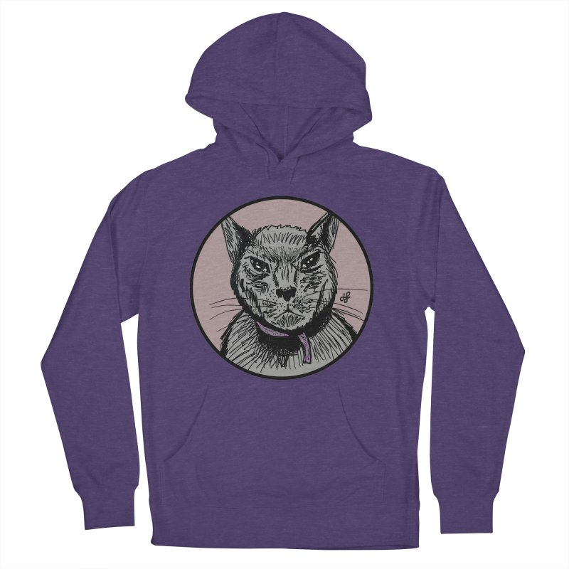 """""""murder cat"""" Men's French Terry Pullover Hoody by J. Lavallee's Artist Shop"""