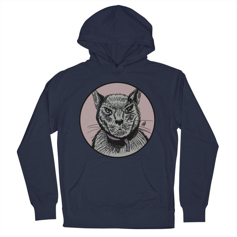 """murder cat"" Men's Pullover Hoody by J. Lavallee's Artist Shop"