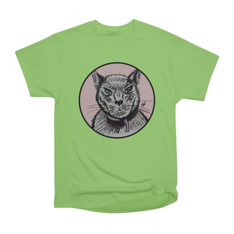 """""""murder cat"""" Men's Heavyweight T-Shirt by J. Lavallee's Artist Shop"""