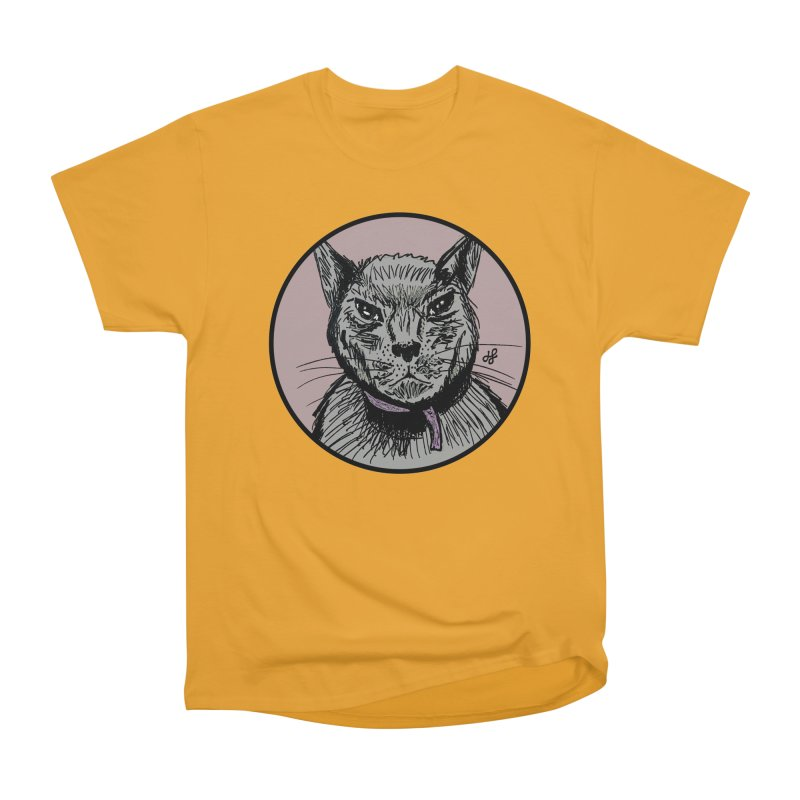"""""""murder cat"""" Women's Heavyweight Unisex T-Shirt by J. Lavallee's Artist Shop"""