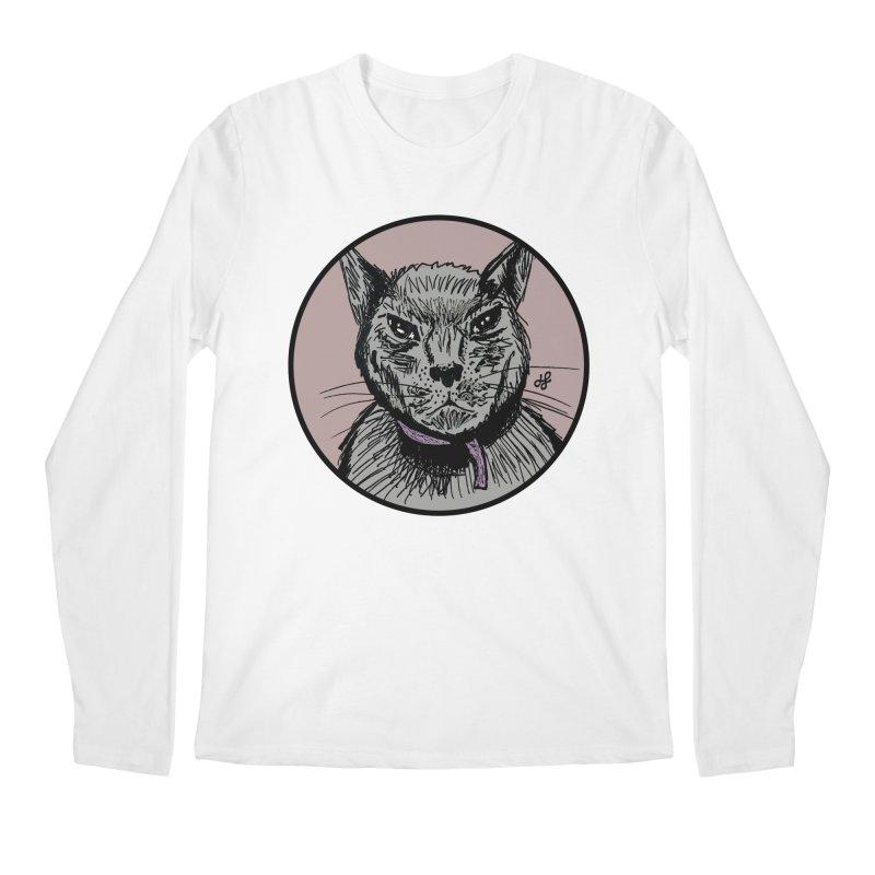 """""""murder cat"""" Men's Regular Longsleeve T-Shirt by J. Lavallee's Artist Shop"""
