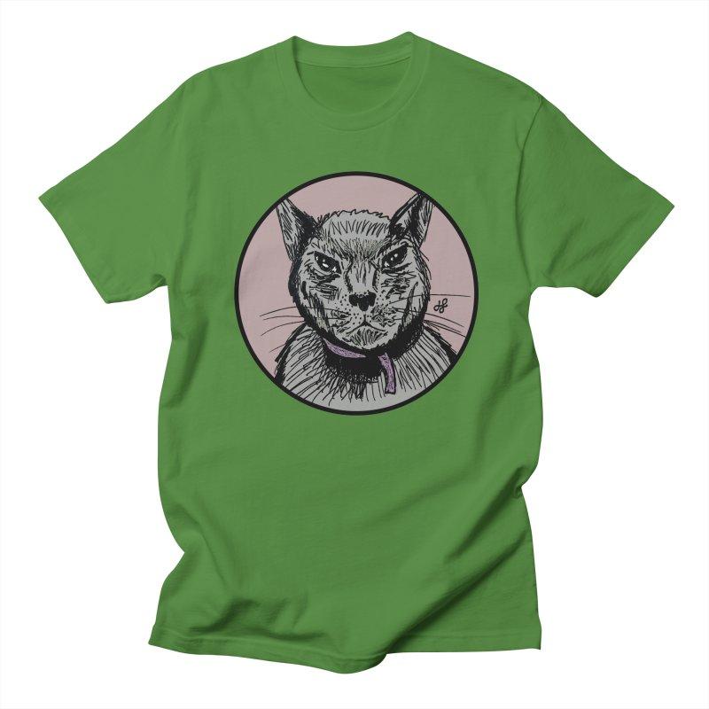 """""""murder cat"""" Men's Regular T-Shirt by J. Lavallee's Artist Shop"""