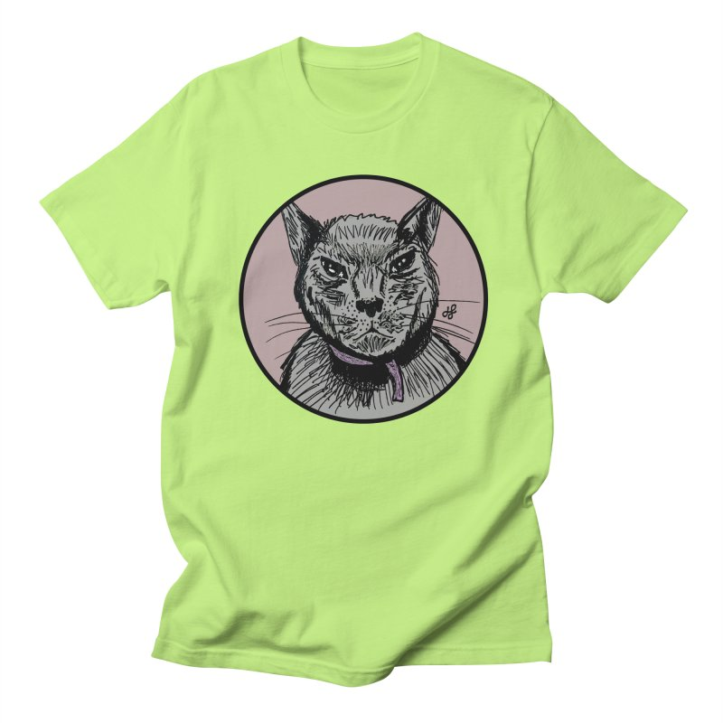 """murder cat"" Women's Regular Unisex T-Shirt by J. Lavallee's Artist Shop"