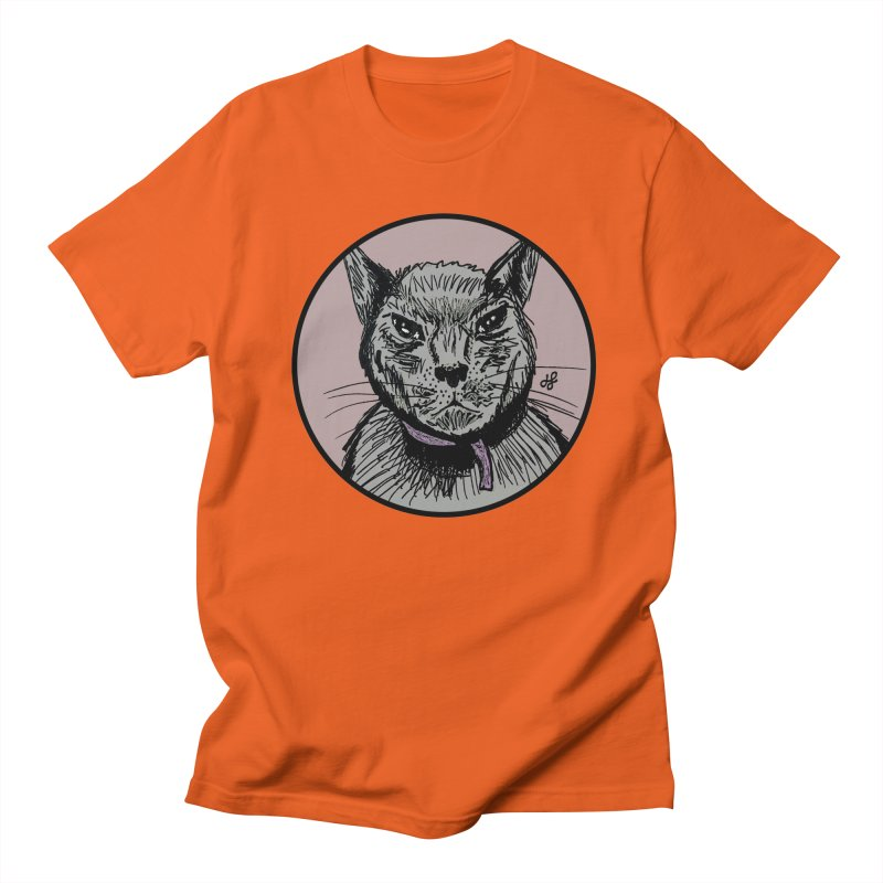 """murder cat"" Men's Regular T-Shirt by J. Lavallee's Artist Shop"