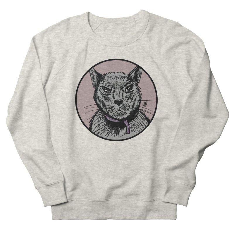 """murder cat"" Women's French Terry Sweatshirt by J. Lavallee's Artist Shop"