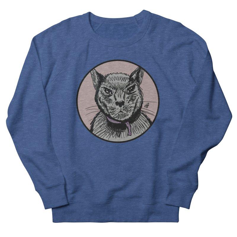 """murder cat"" Men's French Terry Sweatshirt by J. Lavallee's Artist Shop"