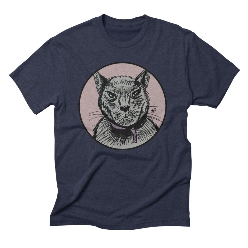 """murder cat"" Men's Triblend T-Shirt by J. Lavallee's Artist Shop"