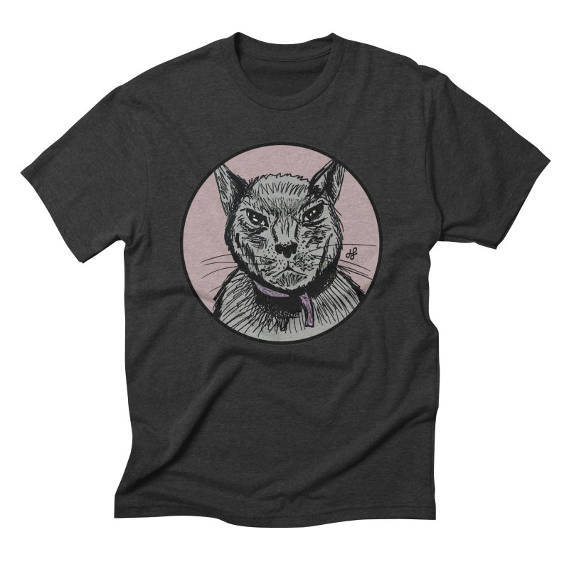 """murder cat"" Men's Triblend T-Shirt by J. Lavallee's Artist Shop"