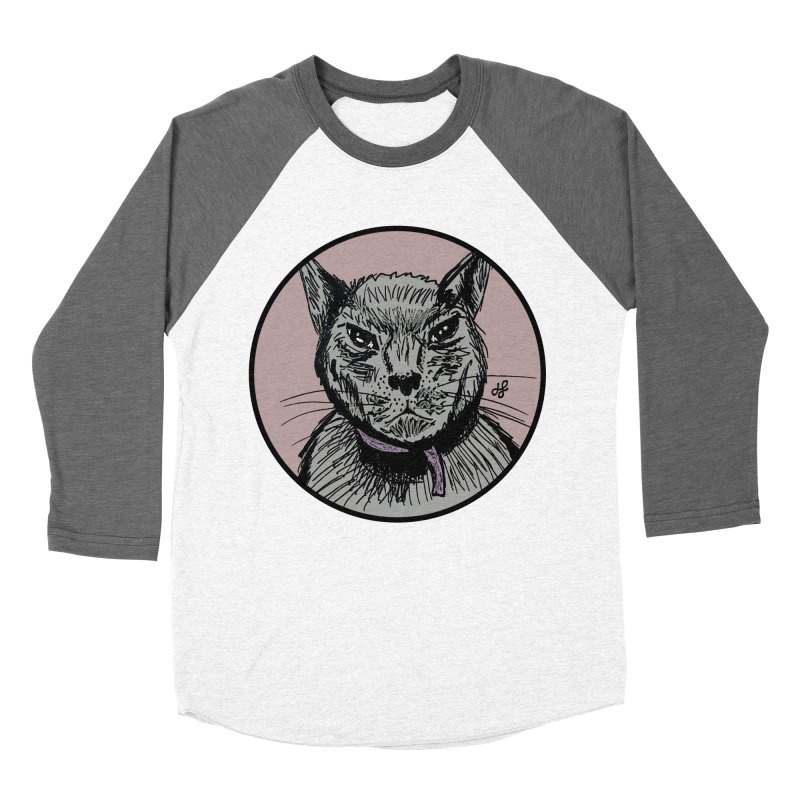 """""""murder cat"""" Women's Longsleeve T-Shirt by J. Lavallee's Artist Shop"""