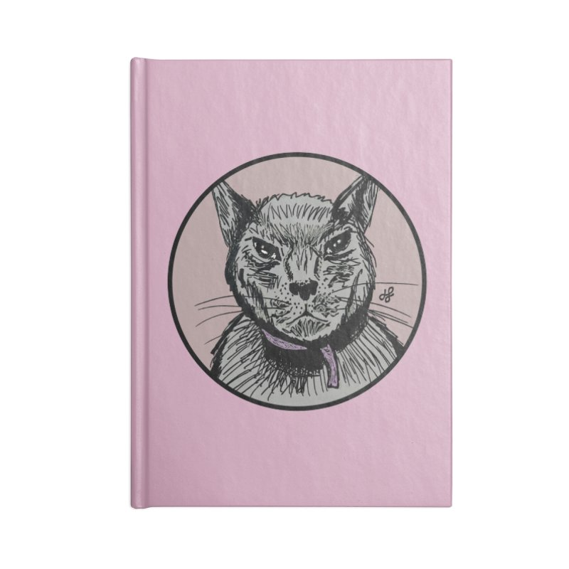 """murder cat"" Accessories Lined Journal Notebook by J. Lavallee's Artist Shop"