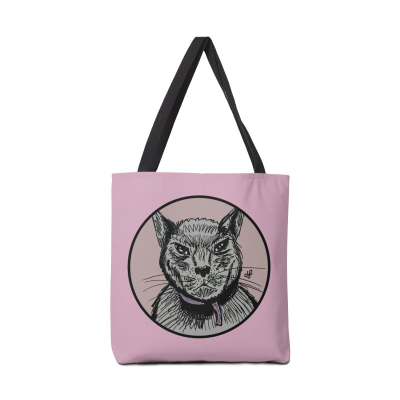 """murder cat"" Accessories Tote Bag Bag by J. Lavallee's Artist Shop"
