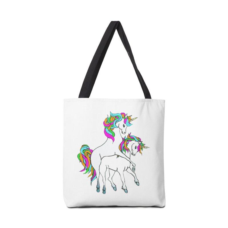 Unicorn Love Accessories Tote Bag Bag by Lili Valente Makes Stuff