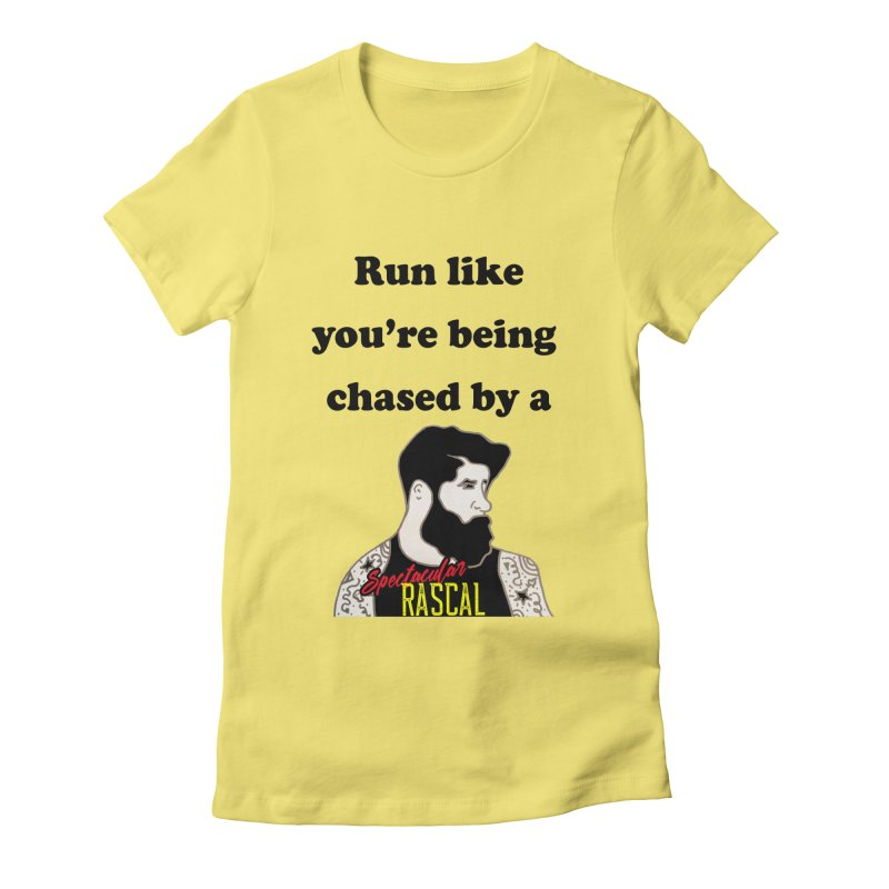 Run like you're being chased by a Spectacular Rascal Women's T-Shirt by Lili Valente Makes Stuff
