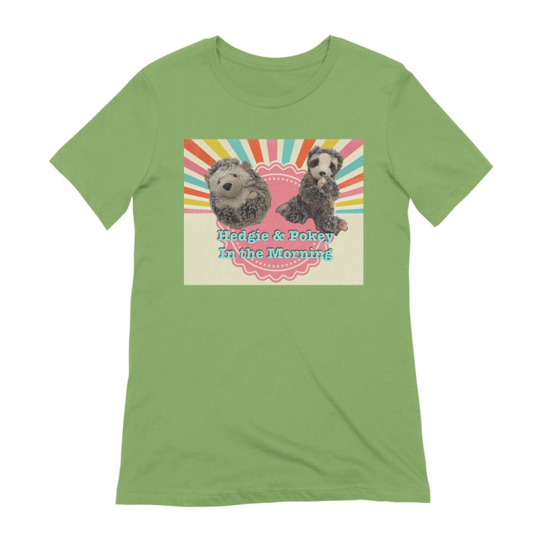 Hedgy and Pokey in the morning! Women's Extra Soft T-Shirt by Lili Valente Makes Stuff