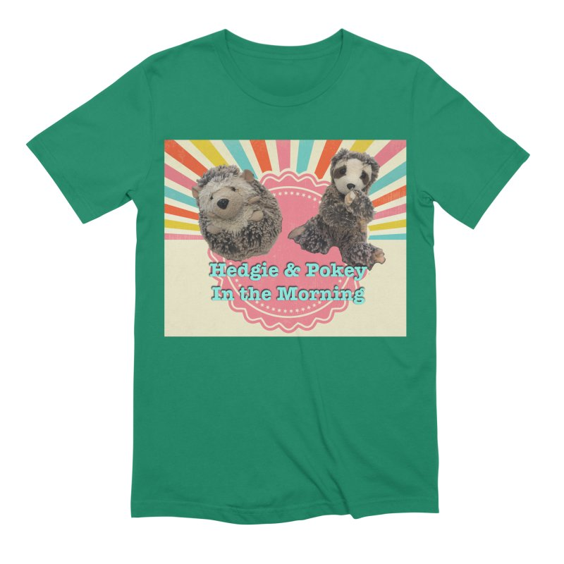 Hedgy and Pokey in the morning! Men's Extra Soft T-Shirt by Lili Valente Makes Stuff