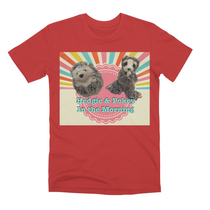 Hedgy and Pokey in the morning! Men's Premium T-Shirt by Lili Valente Makes Stuff