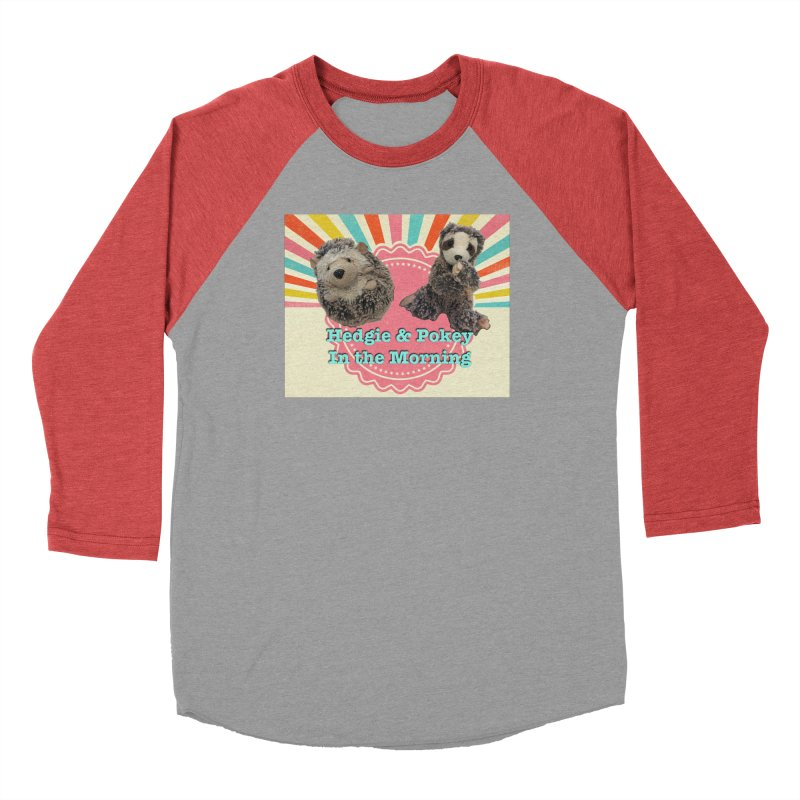 Hedgy and Pokey in the morning! Men's Longsleeve T-Shirt by Lili Valente Makes Stuff