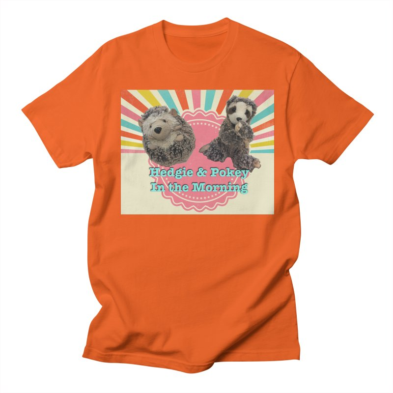 Hedgy and Pokey in the morning! Men's Regular T-Shirt by Lili Valente Makes Stuff