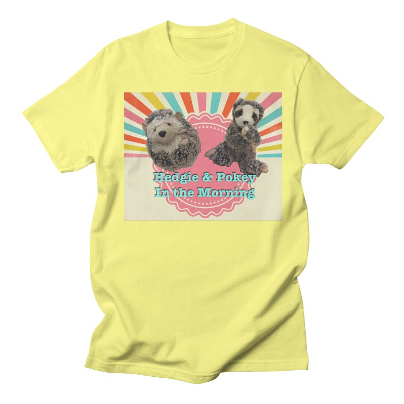 Hedgy and Pokey in the morning! Women's Regular Unisex T-Shirt by Lili Valente Makes Stuff