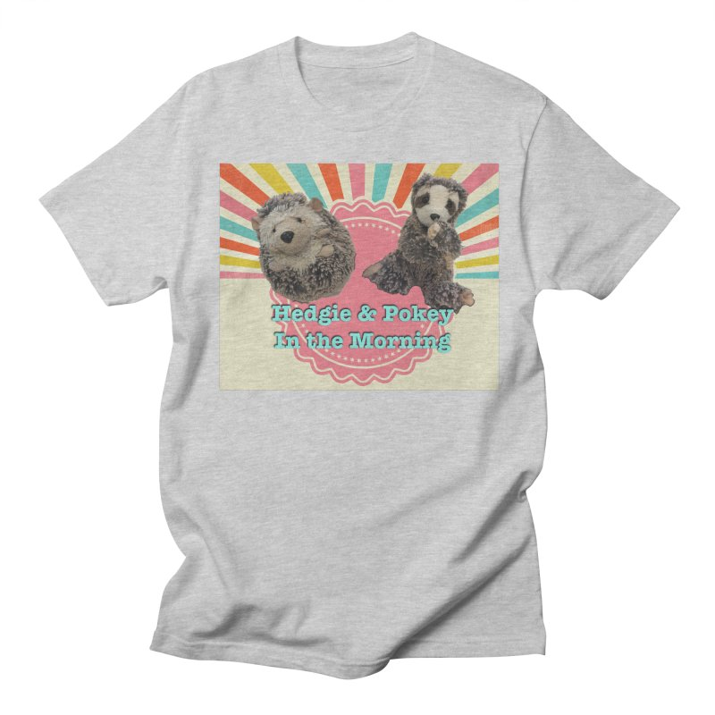 Hedgy and Pokey in the morning! Men's T-Shirt by Lili Valente Makes Stuff