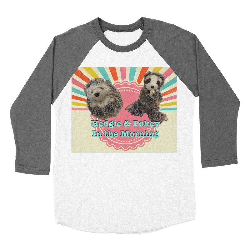 Hedgy and Pokey in the morning! Women's Baseball Triblend Longsleeve T-Shirt by Lili Valente Makes Stuff