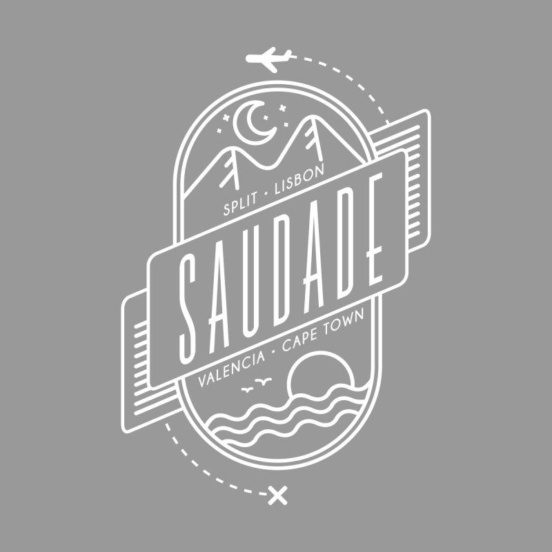 Saudade Design - White by Jessika Savage Artist Shop