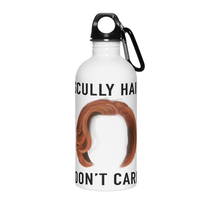 Scully Hair Don't Care - Classic Accessories Water Bottle by Jessika Savage Artist Shop