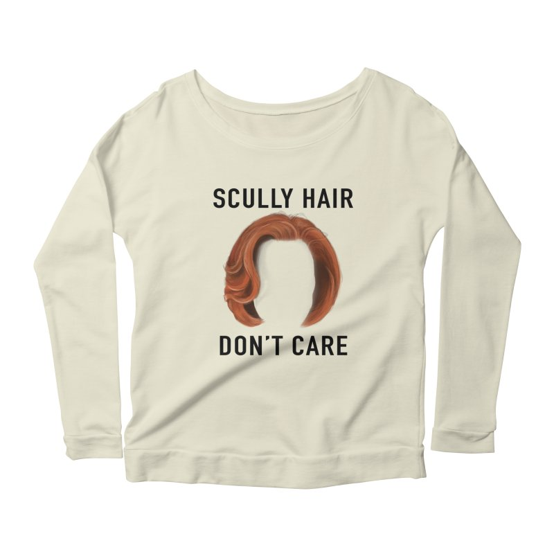 Scully Hair Don't Care - Classic Women's Scoop Neck Longsleeve T-Shirt by Jessika Savage Artist Shop