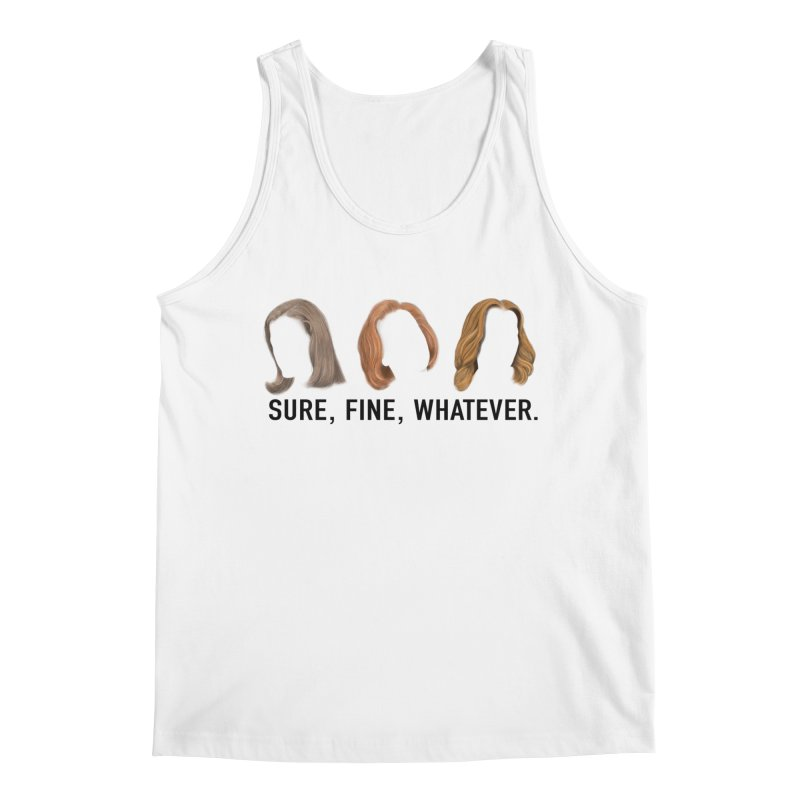 Sure, Fine, Whatever. Men's Regular Tank by Jessika Savage Artist Shop