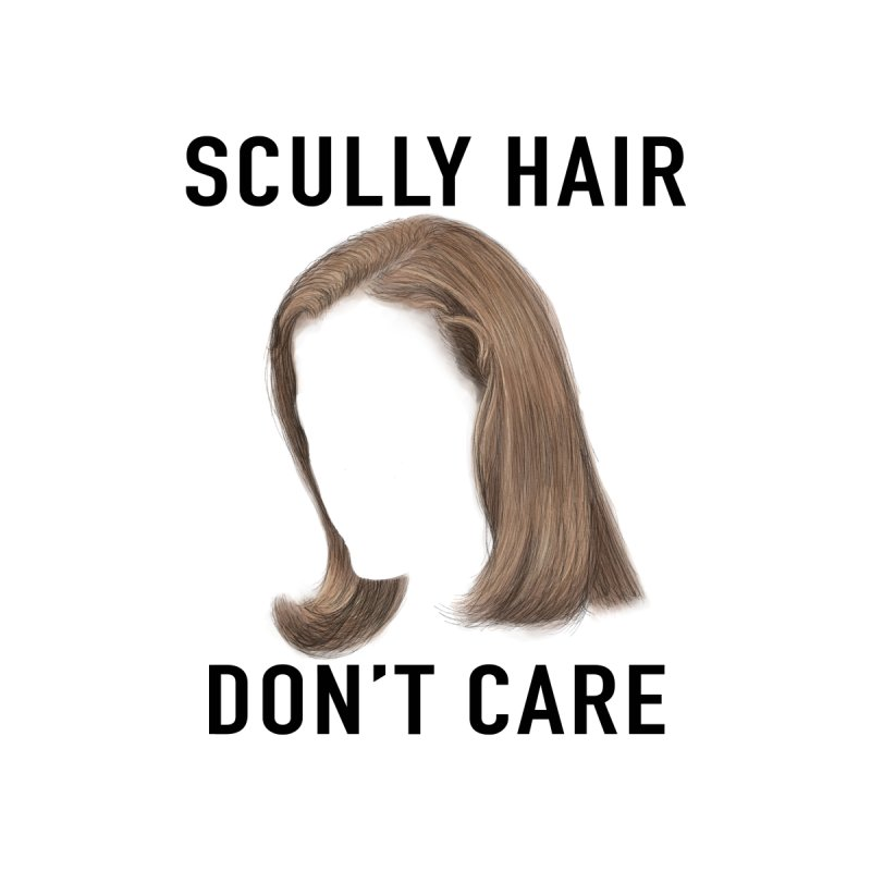 Scully Hair Don't Care - Pilot Men's Pullover Hoody by Jessika Savage Artist Shop