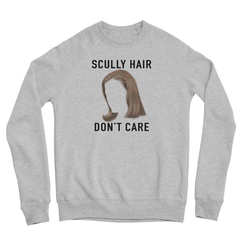 Scully Hair Don't Care - Pilot Women's Sponge Fleece Sweatshirt by Jessika Savage Artist Shop