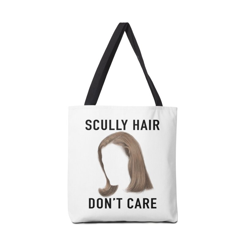 Scully Hair Don't Care - Pilot Accessories Tote Bag Bag by Jessika Savage Artist Shop