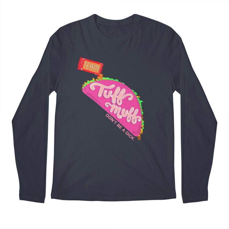 Tuff Muff Taco Men's Regular Longsleeve T-Shirt by Jessika Savage Artist Shop