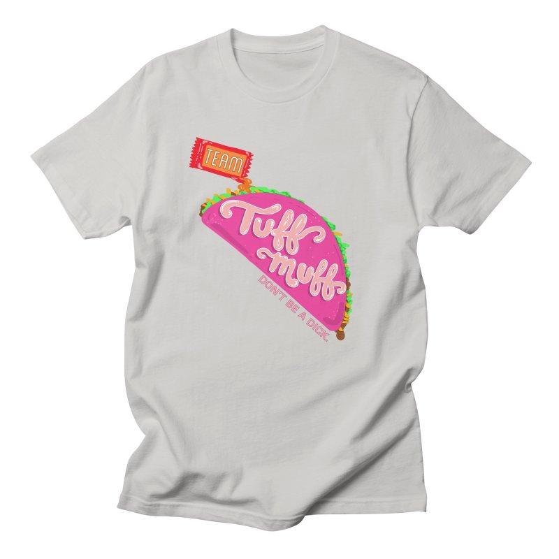 Tuff Muff Taco Men's Regular T-Shirt by Jessika Savage Artist Shop