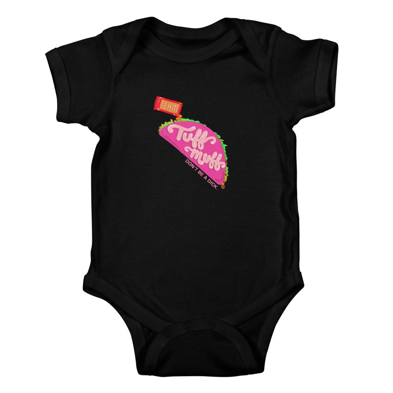 Tuff Muff Taco Kids Baby Bodysuit by Jessika Savage Artist Shop
