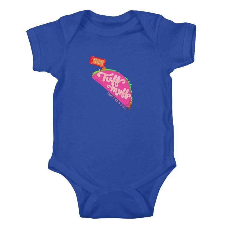 Tuff Muff Taco Kids Baby Bodysuit by Jessika Savage Artist Shop
