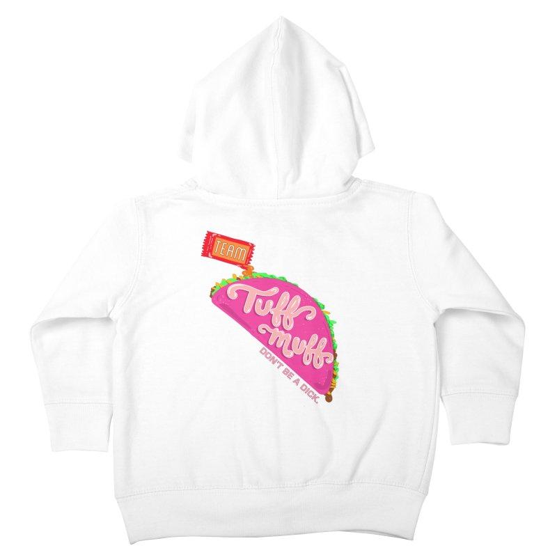 Tuff Muff Taco Kids Toddler Zip-Up Hoody by Jessika Savage Artist Shop