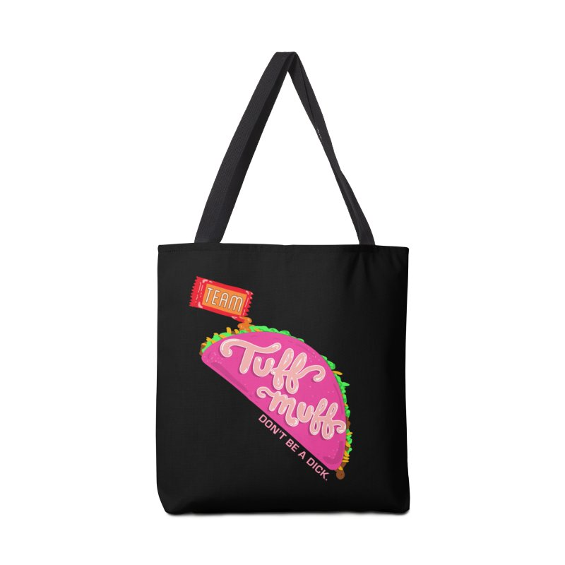 Tuff Muff Taco Accessories Tote Bag Bag by Jessika Savage Artist Shop