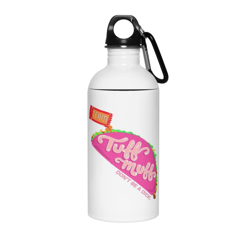 Tuff Muff Taco Accessories Water Bottle by Jessika Savage Artist Shop