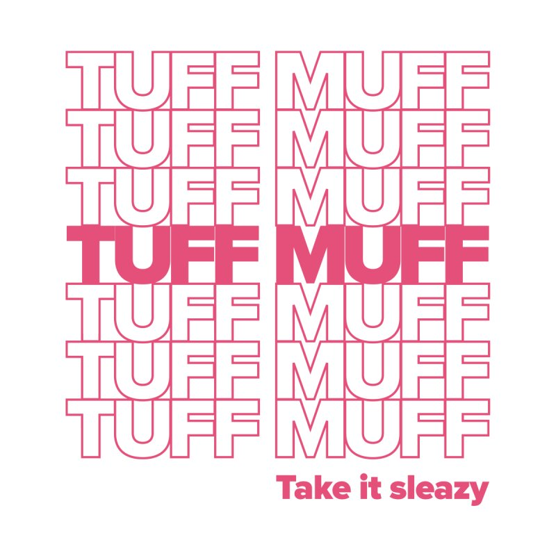 Tuff Muff - pink by Jessika Savage Artist Shop