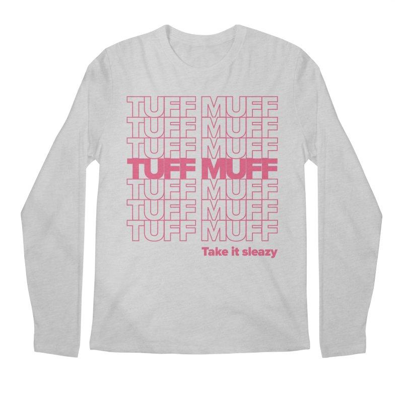 Tuff Muff - pink Men's Regular Longsleeve T-Shirt by Jessika Savage Artist Shop