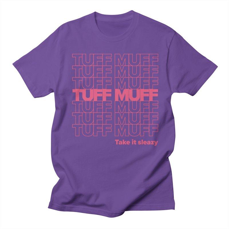Tuff Muff - pink Women's Regular Unisex T-Shirt by Jessika Savage Artist Shop