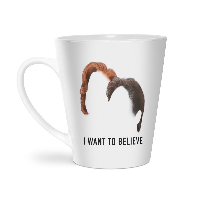 I WANT TO BELIEVE Accessories Latte Mug by Jessika Savage Artist Shop