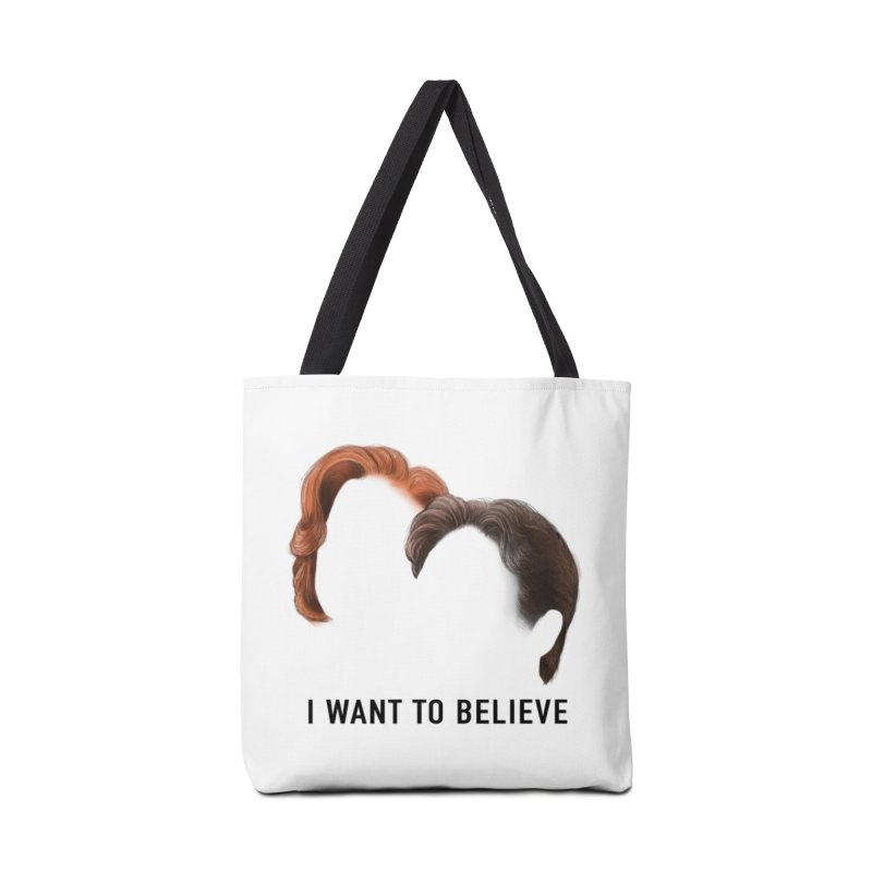 I WANT TO BELIEVE Accessories Tote Bag Bag by Jessika Savage Artist Shop