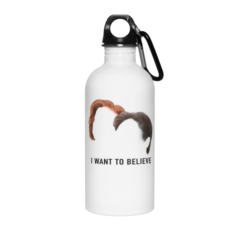 I WANT TO BELIEVE Accessories Water Bottle by Jessika Savage Artist Shop