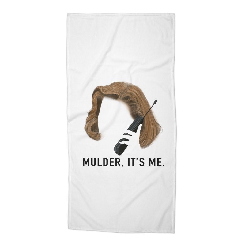 Mulder, It's Me. Accessories Beach Towel by Jessika Savage Artist Shop