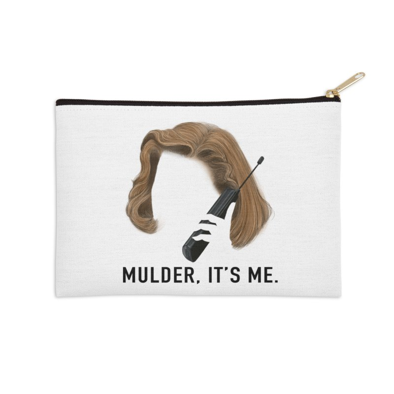 Mulder, It's Me. Accessories Zip Pouch by Jessika Savage Artist Shop