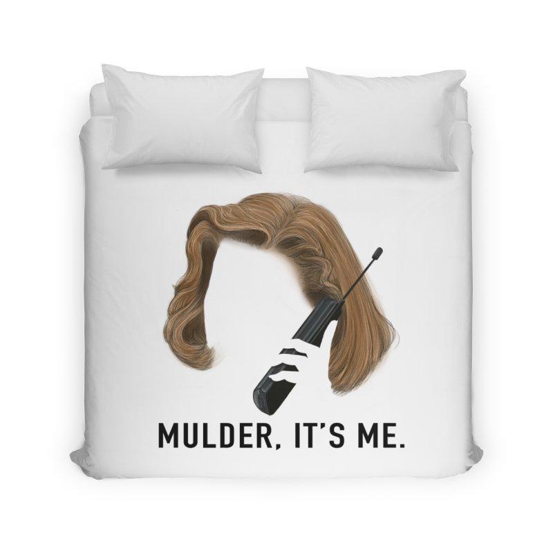 Mulder, It's Me. Home Duvet by Jessika Savage Artist Shop