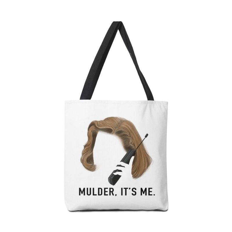 Mulder, It's Me. Accessories Tote Bag Bag by Jessika Savage Artist Shop