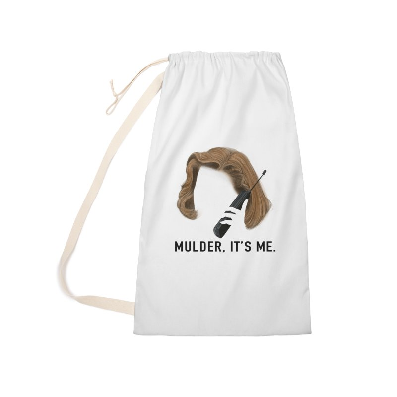 Mulder, It's Me. Accessories Laundry Bag Bag by Jessika Savage Artist Shop